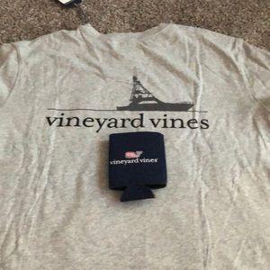 Vineyard Vines gray NEW s/s t shirt. NEW
